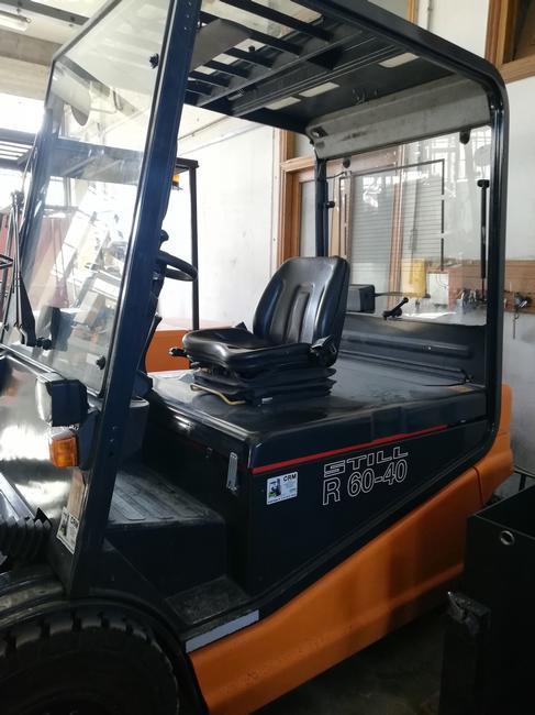 CRM Carrello elevatore usato STILL R60-40